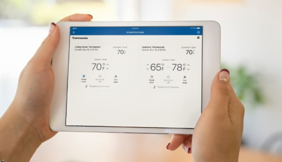 Thermostat control in Peoria